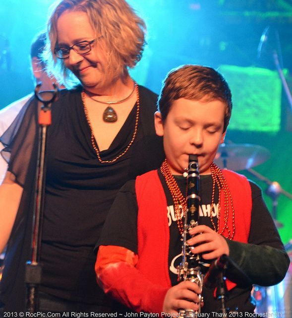 Calvin Cavagnaro and Jan Milliman at the 2013 January Thaw Concert