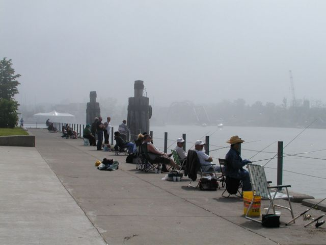 Rochester ny picture of the day gone fishing summerville for Fishing rochester ny