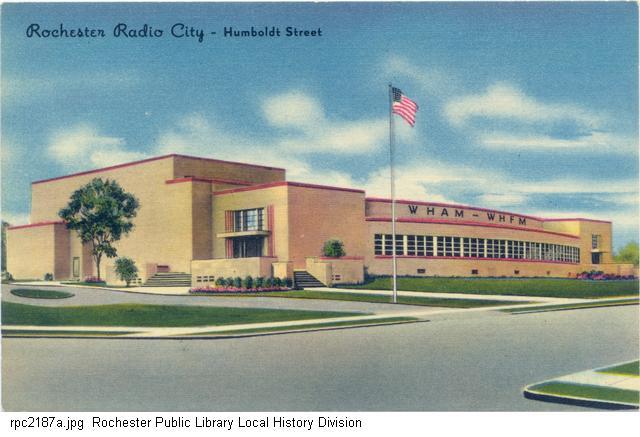 Postcard Rochester Radio City Rochester, NY